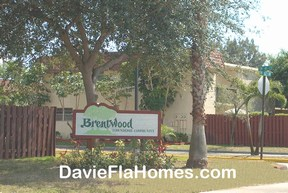Brentwood Townhomes in Davie Florida