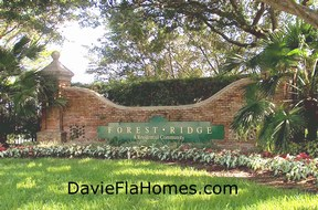 Welcome to Forest Ridge in Davie Florida