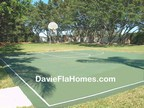 Basketball court at Forest Ridge