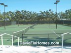 Tennis courts at Forest Ridge