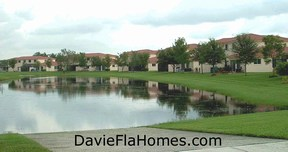 Harmony Lakes townhouses in Davie FL