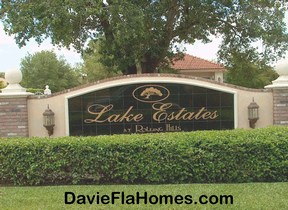 Lake Estates at Rolling Hills in Davie Florida