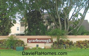 Scarborough homes in Davie Florida