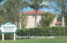 Southwood Townhomes in Davie Florida